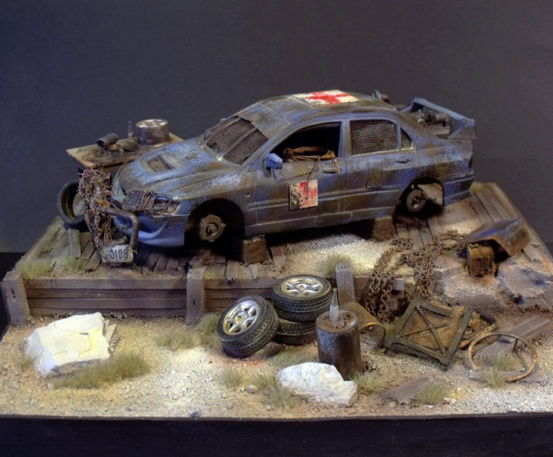 2nd place at Mad Max Contest!