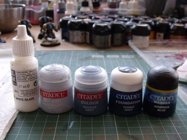 Space Wolves armor tutorial