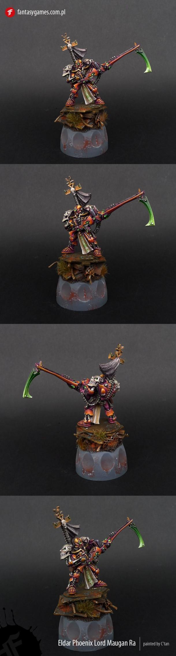 Eldar Phoenix Lord Maugan Ra