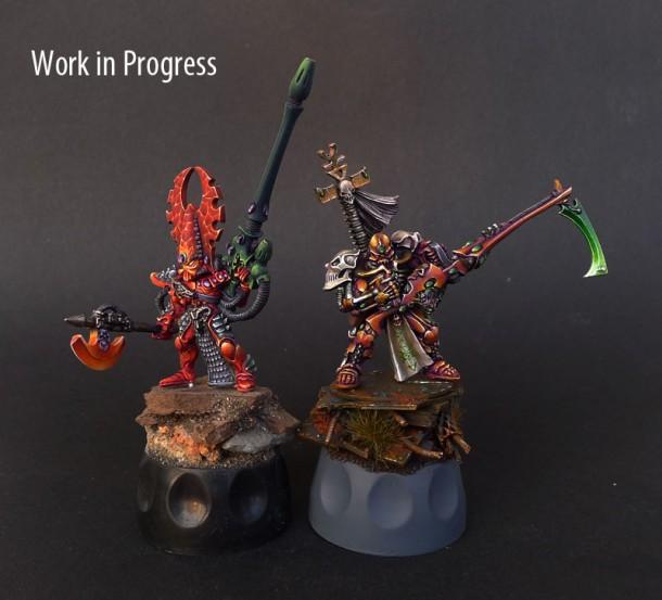 Some updates with eldar heroes