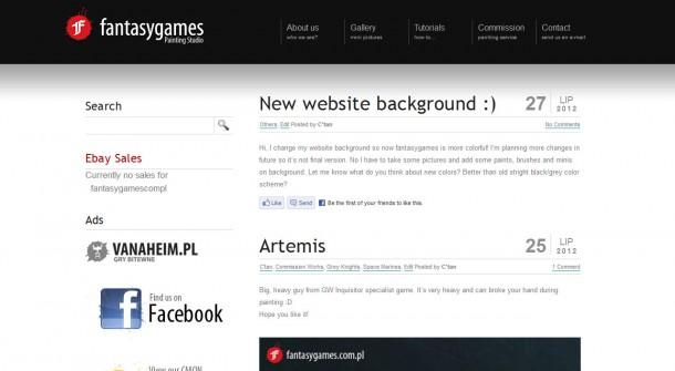 New website background :)
